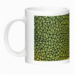 Background Cubism Mosaic Vintage Night Luminous Mugs
