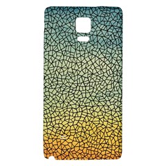 Background Cubism Mosaic Vintage Galaxy Note 4 Back Case by Nexatart