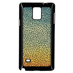 Background Cubism Mosaic Vintage Samsung Galaxy Note 4 Case (black)