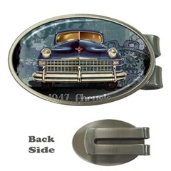 Vintage Car Automobile Money Clips (oval)  by Nexatart