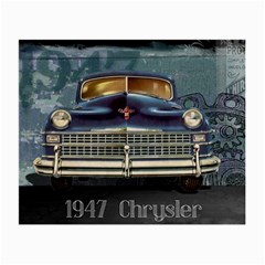 Vintage Car Automobile Small Glasses Cloth by Nexatart