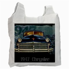 Vintage Car Automobile Recycle Bag (one Side)