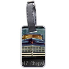 Vintage Car Automobile Luggage Tags (two Sides)