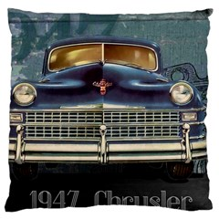 Vintage Car Automobile Large Cushion Case (two Sides) by Nexatart