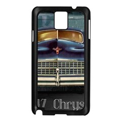 Vintage Car Automobile Samsung Galaxy Note 3 N9005 Case (black) by Nexatart