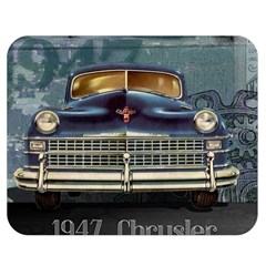 Vintage Car Automobile Double Sided Flano Blanket (medium)