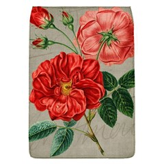 Flower Floral Background Red Rose Flap Covers (s)
