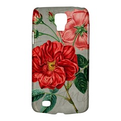 Flower Floral Background Red Rose Galaxy S4 Active