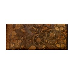 Background Steampunk Gears Grunge Cosmetic Storage Cases