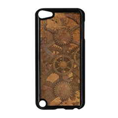 Background Steampunk Gears Grunge Apple Ipod Touch 5 Case (black)
