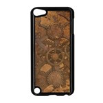 Background Steampunk Gears Grunge Apple iPod Touch 5 Case (Black) Front