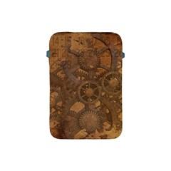 Background Steampunk Gears Grunge Apple Ipad Mini Protective Soft Cases