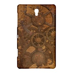 Background Steampunk Gears Grunge Samsung Galaxy Tab S (8 4 ) Hardshell Case
