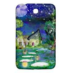 Background Fairy Tale Watercolor Samsung Galaxy Tab 3 (7 ) P3200 Hardshell Case  by Nexatart