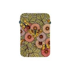 Flower Butterfly Cubism Mosaic Apple Ipad Mini Protective Soft Cases