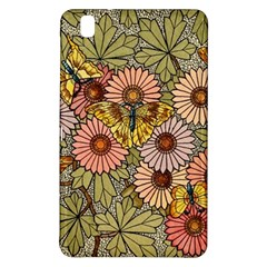 Flower Butterfly Cubism Mosaic Samsung Galaxy Tab Pro 8 4 Hardshell Case
