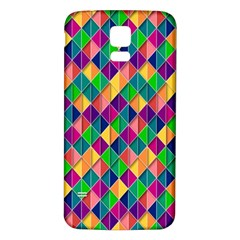Background Geometric Triangle Samsung Galaxy S5 Back Case (white)