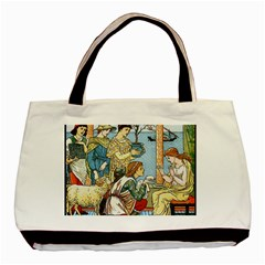Vintage Princess Prince Old Basic Tote Bag by Nexatart