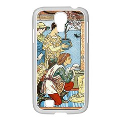 Vintage Princess Prince Old Samsung Galaxy S4 I9500/ I9505 Case (white)