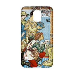 Vintage Princess Prince Old Samsung Galaxy S5 Hardshell Case