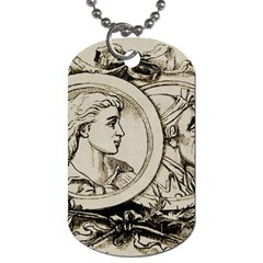 Young Old Man Weird Funny Dog Tag (two Sides)