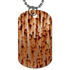 Stainless Rusty Metal Iron Old Dog Tag (two Sides)