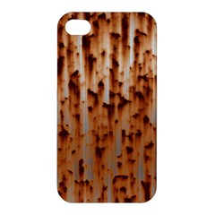 Stainless Rusty Metal Iron Old Apple Iphone 4/4s Premium Hardshell Case