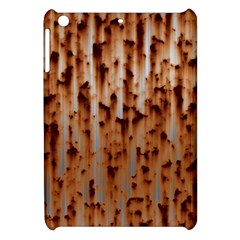 Stainless Rusty Metal Iron Old Apple Ipad Mini Hardshell Case by Nexatart