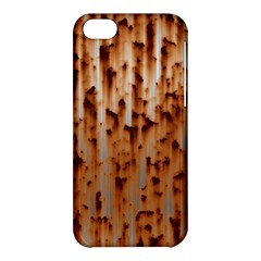 Stainless Rusty Metal Iron Old Apple Iphone 5c Hardshell Case