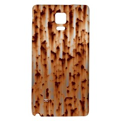 Stainless Rusty Metal Iron Old Galaxy Note 4 Back Case