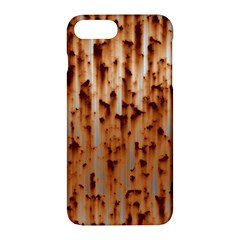 Stainless Rusty Metal Iron Old Apple Iphone 7 Plus Hardshell Case by Nexatart
