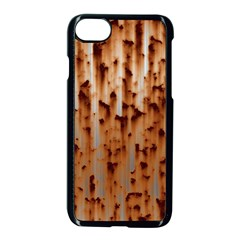 Stainless Rusty Metal Iron Old Apple Iphone 8 Seamless Case (black)