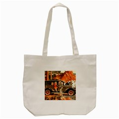 Car Automobile Transport Passenger Tote Bag (cream) by Nexatart