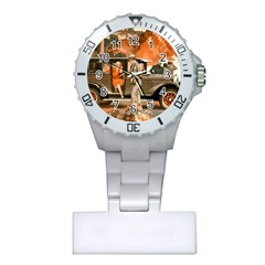 Car Automobile Transport Passenger Plastic Nurses Watch by Nexatart