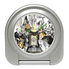 Vintage People Party Celebrate Travel Alarm Clocks