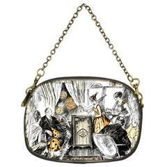 Vintage People Party Celebrate Chain Purses (one Side)  by Nexatart