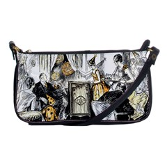 Vintage People Party Celebrate Shoulder Clutch Bags by Nexatart