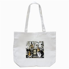 Vintage People Party Celebrate Tote Bag (white) by Nexatart