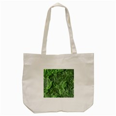 Green Geological Surface Background Tote Bag (cream)