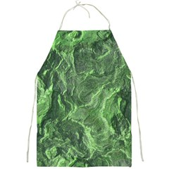 Green Geological Surface Background Full Print Aprons