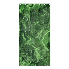 Green Geological Surface Background Shower Curtain 36  X 72  (stall)  by Nexatart