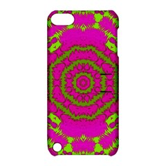 Fern Forest Star Mandala Decorative Apple Ipod Touch 5 Hardshell Case With Stand by pepitasart