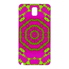 Fern Forest Star Mandala Decorative Samsung Galaxy Note 3 N9005 Hardshell Back Case by pepitasart