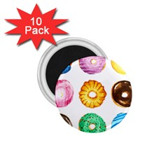 Donuts 1 75  Magnets (10 Pack)  by KuriSweets