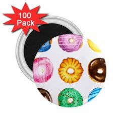 Donuts 2 25  Magnets (100 Pack)  by KuriSweets