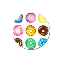 Donuts Magnet 3  (round) by KuriSweets