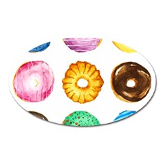 Donuts Oval Magnet by KuriSweets