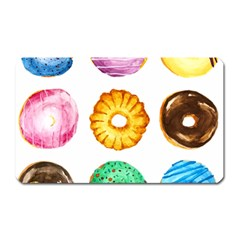 Donuts Magnet (rectangular) by KuriSweets