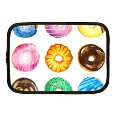 Donuts Netbook Case (medium)  by KuriSweets