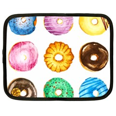 Donuts Netbook Case (xxl)  by KuriSweets